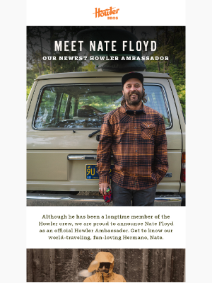 Meet Ambassador Nate Floyd