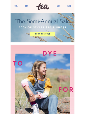 Tea Collection - The Tie-Dye They Want (No DIY Required)