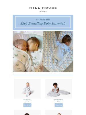 Hill House Home - BACK IN STOCK: Nell's Baby Essentials