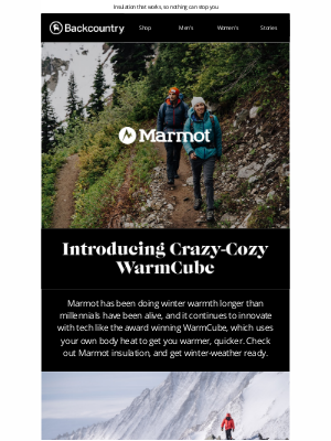 Backcountry - New Outerwear for Any Forecast From Marmot