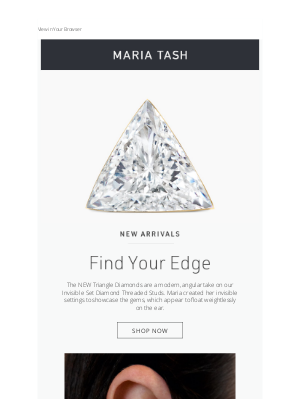 Venus by Maria Tash - New Arrivals For Even Sharper Style