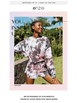 Onzie Inc. - YOU INSPIRE US!💫