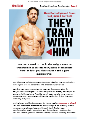 How Do Hollywood Stars Get Jacked So Fast? They Follow These 5 Rules