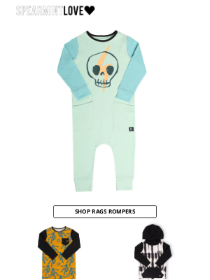 Spearmint Ventures  Llc - cool rompers from size 3 month to 6 YEAR
