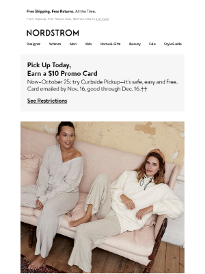 Nordstrom - Loungewear going fast