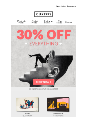 💖 30% OFF EVERYTHING