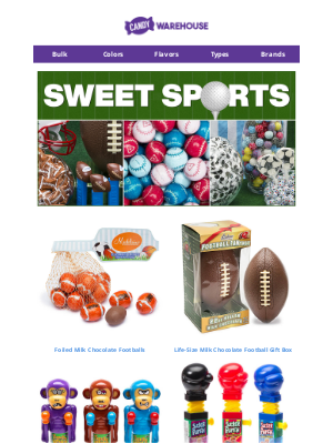 CandyWarehouse - 🏈 Shop Sports Candy for Gameday Parties!