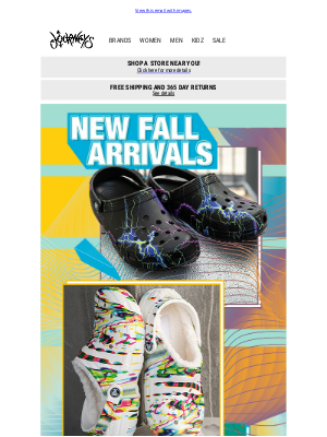 Journeys - *NEW* Fall arrivals