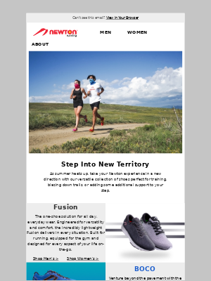 Newton Running - New Direction for Your Newton Experience