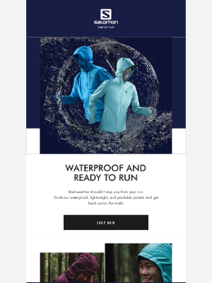 Salomon - Jackets made for the rain