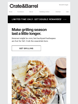 Crate and Barrel - Everything you need to extend your grilling season