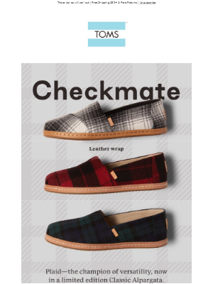 Just in! Limited Edition Plaid Classics