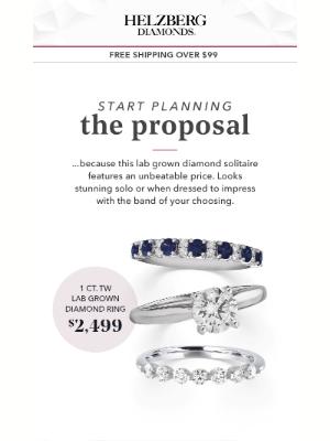 Helzberg Diamonds - Dream Ring, Dream Price 💍