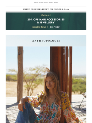 Anthropologie (UK) - New month, NEW ARRIVALS!