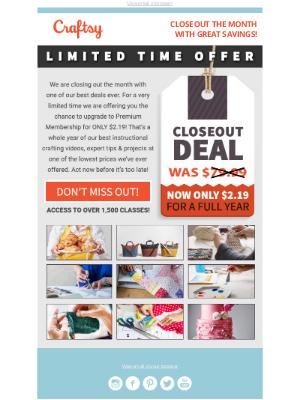 Bluprint - $2.19 Mega Closeout Deal!
