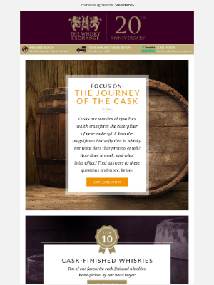 Focus on: The Journey of the Cask