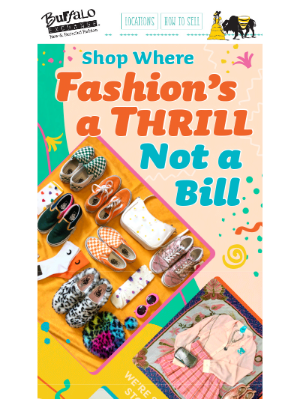 Buffalo Exchange - Fashion Should Be a Thrill, Not a Bill!
