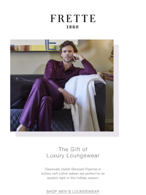 Frette - Give The Gift Of Leisure
