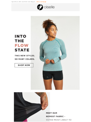 Oiselle - Just Landed: Your New Favorite Fabric