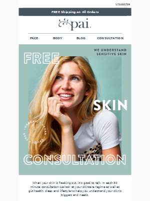 Want A Free Skin Consultation?