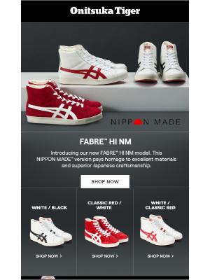 Onitsuka Tiger - NIPPON MADE™ Spotlight: FABRE™ Hi NM