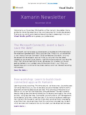Xamarin email marketing strategy - MailCharts