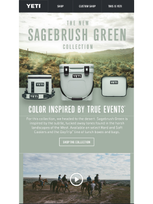 New Sagebrush Green Collection