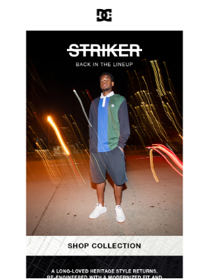 Roxy - THE STRIKER is back in the lineup