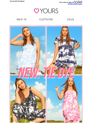 The must-have right now… TIE DYE