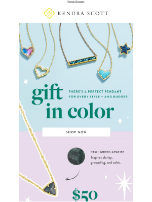 Kendra Scott - Gift the Perfect Pendants for Every Style