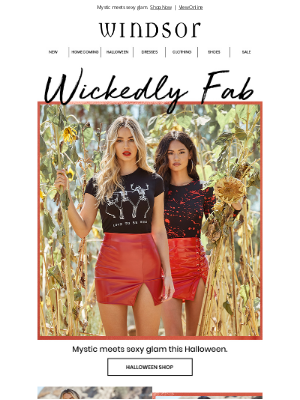 Windsor Fashions - ✨Get Wickedly Fab This Halloween!
