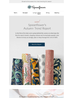 Spoonflower - 📈New! Spoonflower's Autumn 2020 Trend Report
