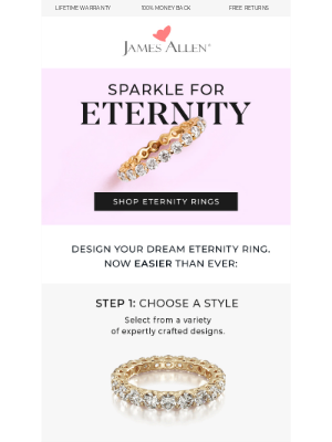James Allen Rings - Design The Perfect Eternity Ring 💍