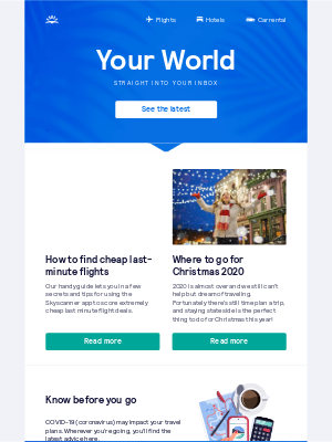 Skyscanner (UK) - How to find cheap last-minute flights