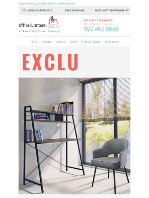 Office Furniture - An Exclusive Collection You Won't Find Anywhere Else