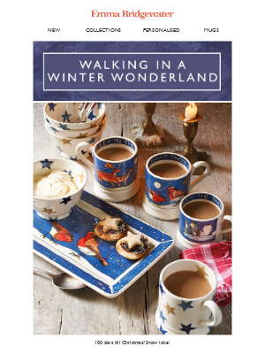 Emma Bridgewater (UK) - 🦌What wintery animals have just wandered in?🦌