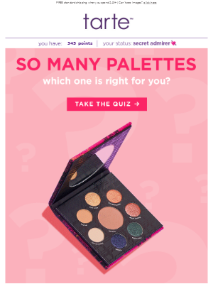 YOUR PERFECT PALETTE INSIDE