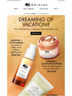 Origins - Give Your Skin A Break With Vaca-Inspired Faves