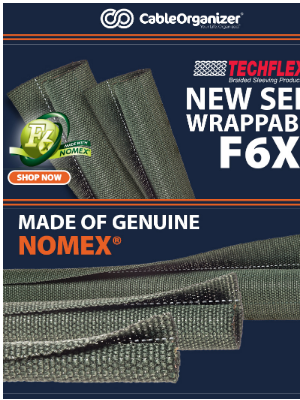 CableOrganizer - F6X - Self Wrappable Nomex! NEW!