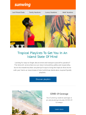 Tropical Playlists To Get You In An Island State Of Mind