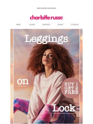 Charlotte Russe - LEGGINGS 4 DAYS 💖