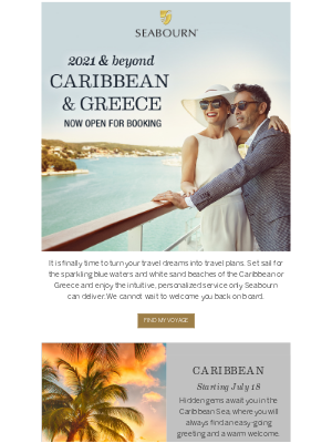 Seabourn Cruise Line - Welcome Aboard Special Offers