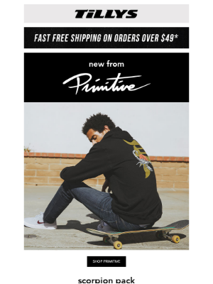 Tillys - 🔥 New In From Primitive