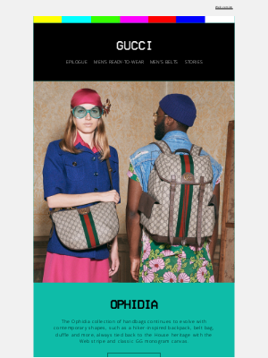 Gucci (UK) - The Evolution of Ophidia