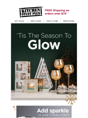 Kitchen Stuff Plus - Create A Warm Glow At Home For Your Loved Ones 🕯️
