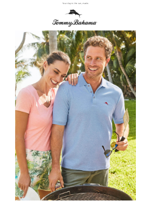 Tommy Bahama - Get OUT! New Emfielder Colors Are Just IN
