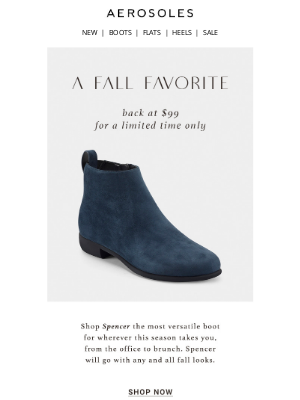 Aerosoles - Shop Spencer at $99