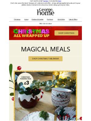 Asda UK - Christmas-cracking tableware 🍽️