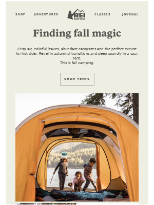 Fall Camping Season Is Heating Up