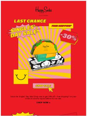 Happy Socks - Last chance: 30% off  💪